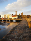 The Harbour at Dawn, St Andrews, Fife, Scotland Photographic Print by Mark Sunderland