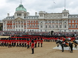 Soldiers at Trooping Colour 2012, Birthday Parade of Queen, Horse Guards, London, England Impressão fotográfica por Hans Peter Merten
