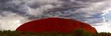 Light with Rain Storm, Uluru-Kata Tjuta Nat'l Park, UNESCO World Heritage Site, Australia Reproduction photographique par Giles Bracher