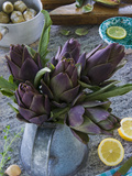 Artichokes, Italy, Europe Photographic Print by Nico Tondini