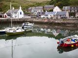 Gourdon Harbour Near Inverbervie, Aberdeenshire, Scotland, United Kingdom, Europe Photographic Print by Mark Sunderland