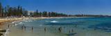 Panoramic of Surf Lifesaving Contest, Manly Beach, Sydney, New South Wales, Australia, Pacific Reproduction photographique par Giles Bracher