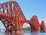 Forth Rail Bridge over the Firth of Forth, South Queensferry Near Edinburgh, Lothian, Scotland Photographic Print by Chris Hepburn