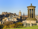 Edinburgh Cityscape from Calton Hill, Edinburgh, Lothian, Scotland Photographic Print by Chris Hepburn