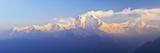 Dhaulagiri Himal Seen from Khopra, Annapurna Conservation Area, Dhawalagiri (Dhaulagiri), Nepal Stretched Canvas Print by Jochen Schlenker
