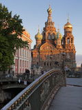 Church on Spilled Blood, UNESCO World Heritage Site, St Petersburg, Russia Impressão fotográfica por Martin Child