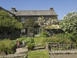 Hilltop, Sawrey, Near Ambleside, Home of Beatrix Potter, Lake District Nat'l Park, Cumbria, England Fotografisk tryk af James Emmerson