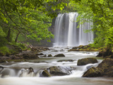 Sgwd yr Eira Waterfall, Brecon Beacons, Wales, United Kingdom, Europe Photographic Print by Billy Stock