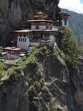 Taktshang Goemba (Tigers Nest Monastery), Paro Valley, Bhutan, Asia Photographic Print by Eitan Simanor