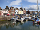Yachts in the Harbour at Arbroath, Angus, Scotland, United Kingdom, Europe Photographic Print by Mark Sunderland