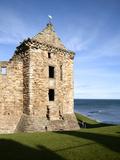 St Andrews Castle, St Andrews, Fife, Scotland Photographic Print by Mark Sunderland