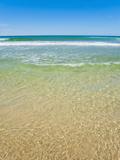 Crystal Clear Blue Sea at Surfers Paradise, Gold Coast, Queensland, Australia, Pacific Fotografisk trykk av Matthew Williams-Ellis