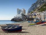 The Caleta Hotel, Catalan Bay, Gibraltar, Europe Stampa fotografica di Giles Bracher