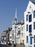Old Portsmouth with the Spinnaker Tower Behind, Portsmouth, Hampshire, England, UK, Europe Reproduction photographique par Ethel Davies