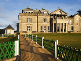 Royal and Ancient Golf Club, St. Andrews, Fife, Scotland, United Kingdom, Europe Photographic Print by Mark Sunderland