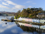 Looking Down at the Harbour of Portree, Isle of Skye, Inner Hebrides, Scotland Photographic Print by Chris Hepburn
