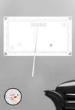 Velleda Score Autocollant mural