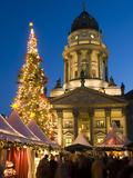 Christmas Market, Gendarmenmarkt, Berlin, Germany, Europe Reproduction photographique par Stuart Black