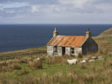 Abandoned Croft, Wester Ross, Highlands, Scotland, United Kingdom, Europe Reproduction photographique par Jean Brooks