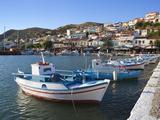 Harbour View, Pythagorion, Samos, Aegean Islands, Greece Lámina fotográfica por Stuart Black