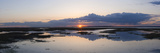Sunset over Marshes of Chichester Harbour on a Very Still Evening, West Sussex, England, UK, Europe Reproduction photographique par Giles Bracher