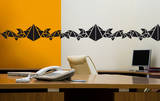 La Frise Geometrique Autocollant mural