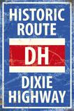 Historic Route Blechschild