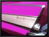 Classic Chevrolet Bel Air Leinwandtransfer mit Rahmung von Bill Bachmann