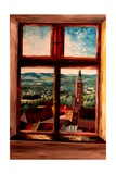 Isar Valley with St Martin from Trausnitz Castle Posters par Markus Bleichner