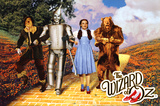 The Wizard of Oz - Yellow Brick Road アートポスター