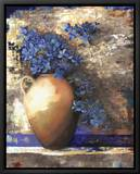 Provence Urn II Framed Canvas Print by Louise Montillio