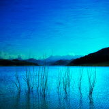 Composition in Blue Photographic Print by Philippe Sainte-Laudy