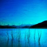 Composition in Blue Valokuvavedos tekijänä Philippe Sainte-Laudy