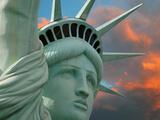 Freiheitsstatue Fotografie-Druck von Philippe Sainte-Laudy