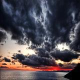 Svarte skyer II Fotografisk trykk av Philippe Sainte-Laudy