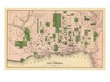1876, Toronto, Canada Giclée-tryk