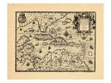 1594, West Indies Impressão giclée