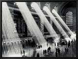 Grand Central Station Innrammet lerretstrykk