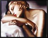 The Sleeper Ingelijste canvasdruk van Tamara de Lempicka
