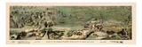 1899, Route of the Mormon Pioneers from Nauvoo to Great Salt Lake in 1846 Drawn in 1899, Utah, Uni Giclee-trykk