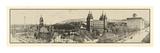 1912, Mormon Temple Grounds Salt Lake City Panorama Photo, Utah, United States Giclee-trykk