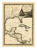1798, Cuba, Central America, Latin America Impressão giclée