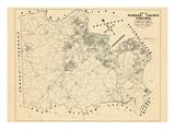 1957, Fairfax County, Virginia, United States Giclee-trykk