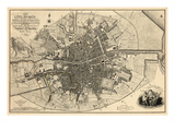 1797, Ireland, Dublin Giclée-vedos