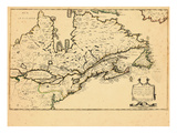 1643, Canada Giclée-Druck