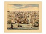 1671, Dominican Republic Impressão giclée