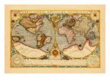 1719, Florida, Louisiana, North America, East Coast Giclee Print