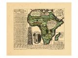 1741, África Lámina giclée