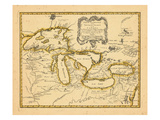 1755, Great Lakes Giclee-trykk