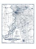 1950, Sacramento County 1950c, California, United States Giclee-trykk